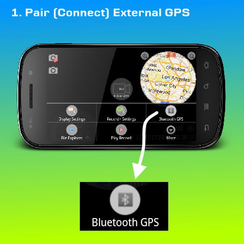 Pair and Connect External GPS