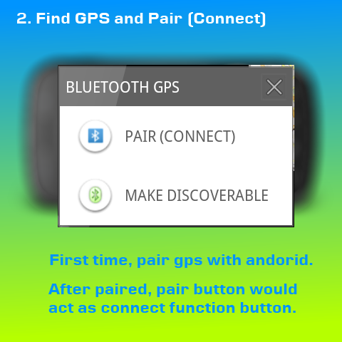 Connect Paired GPS
