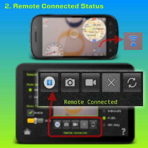 Remote Connected Status
