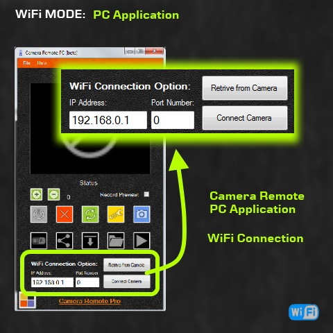WiFi Mode PC Application