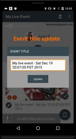 My Live Event